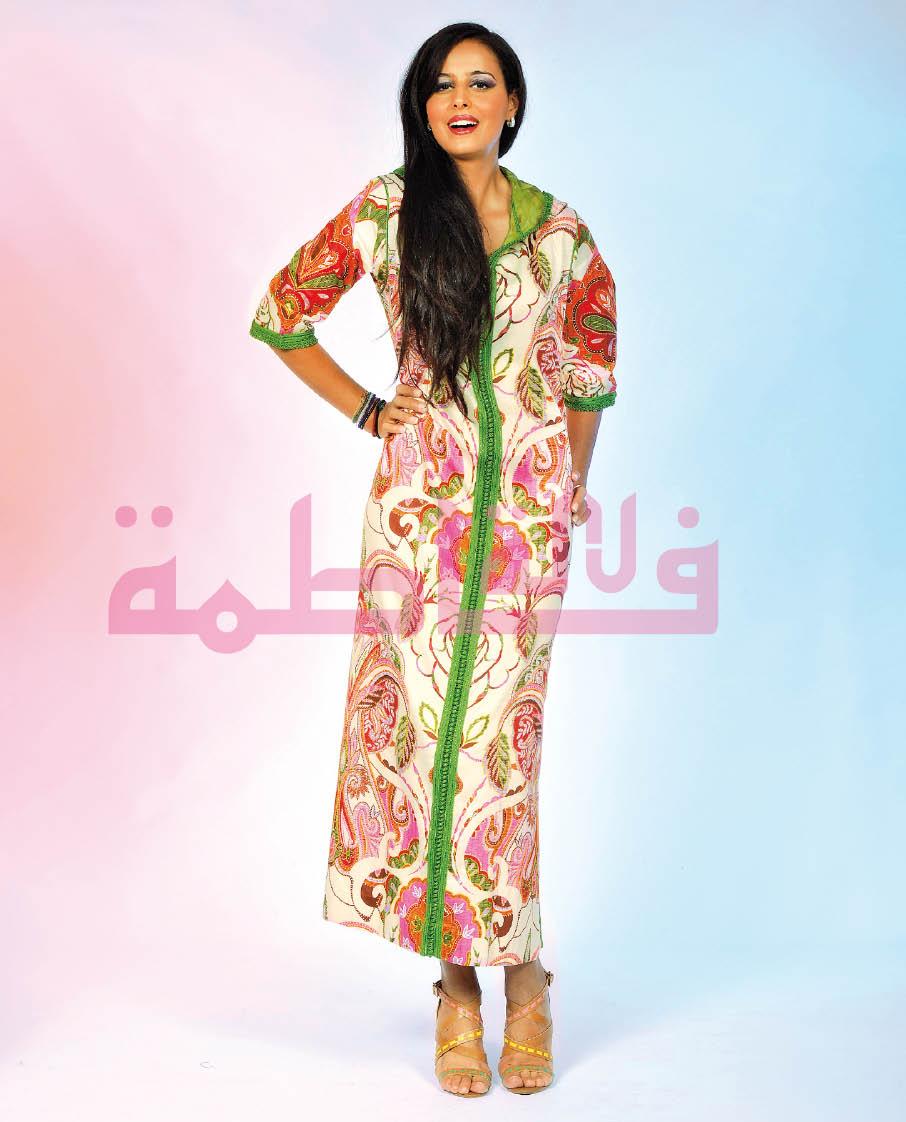 أناقة وجمال الجلابة المغربية