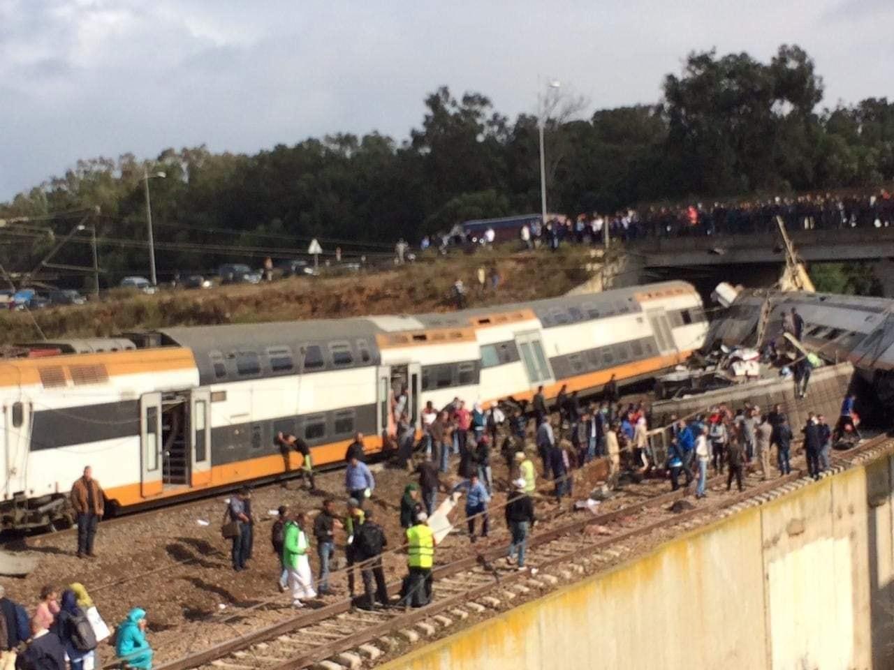 عودة حركة القطارات بين الرباط والقنيطرة بعد فاجعة بوقنادل