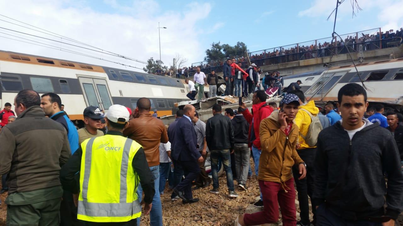 تسريب حوار بين عمال المكتب الوطني للسكك الحديدية يكشف أسباب انقلاب القطار