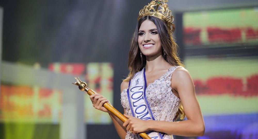بالفيديو.. شابة لبنانية تتوج بلقب ملكة جمال كولومبيا