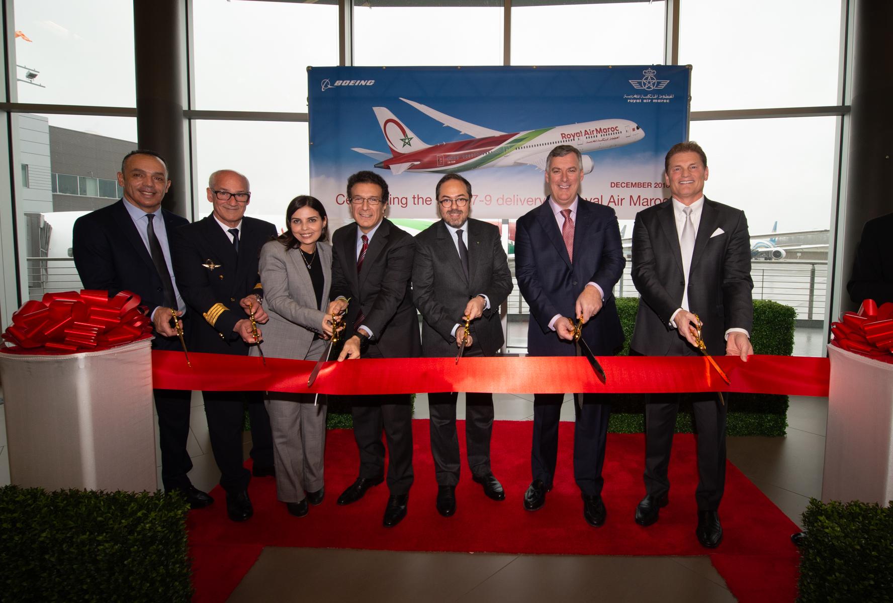 المغرب يتسلم في سياتل طائرة بوينغ جديدة من طراز 787-9 دريملاينر