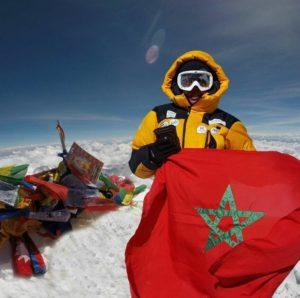 بشرى بايبانو تتسلق قمة جبل فينسون وتنجح في تحدي القمم السبع