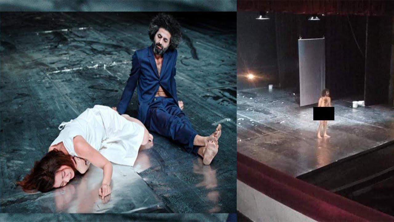ظهور ممثل عاريا في مهرجان قرطاج المسرحي يثير الجدل