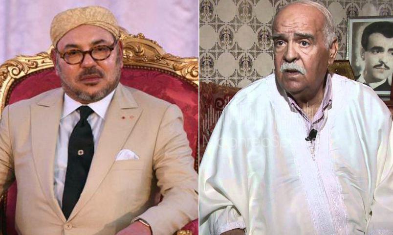 برقية تعزية ومواساة من جلالة الملك إلى أفراد أسرة الفنان المرحوم حميد الزاهير