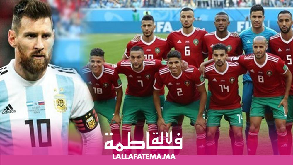 ميسي يغيب رسميا عن ودية المغرب والأرجنتين (جامعة)