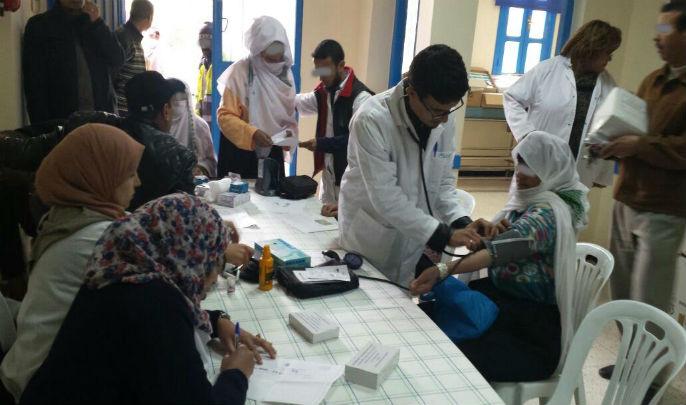 جمعية أمدام تنظم حملة طبية تستهدف منطقة الريش إقليم ميدلت