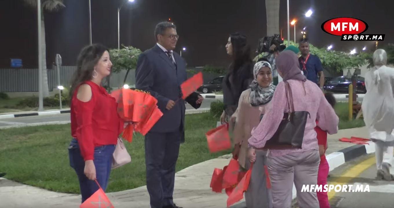 بالفيديو من القاهرة.. مغاربة في استقبال المنتخب الوطني