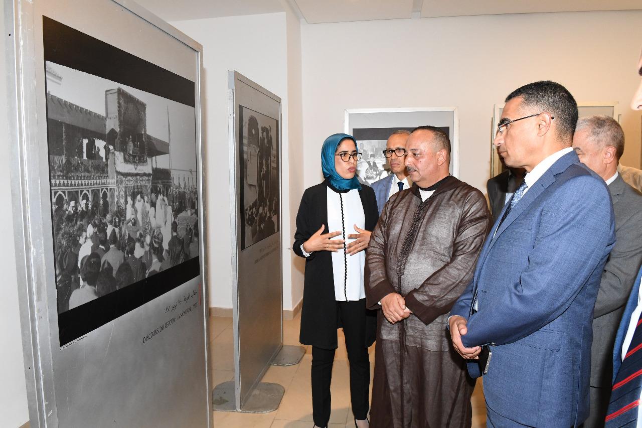 معرض للصور التاريخية بمناسبة ذكرى ثورة الملك والشعب