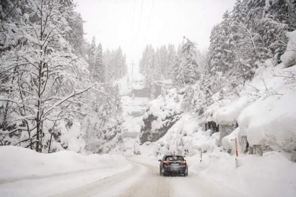 أمطار رعدية وثلوج في العديد من المدن المغربية