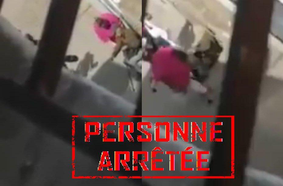 توقيف السيدة التي ظهرت في شريط فيديو متلبسة بسرقة ممتلكات خاصة بشخص مسن وفي وضعية إعاقة