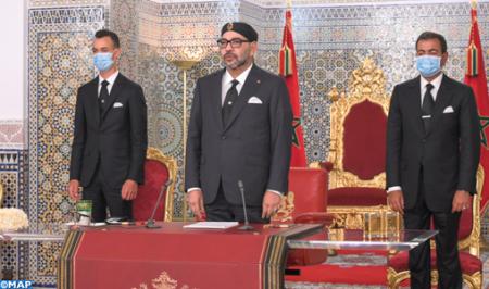 جلالة الملك محمد السادس: العناية التي أعطيها لصحة المواطن المغربي وسلامة عائلته هي نفسها التي أخص بها أبنائي وأسرتي الصغيرة