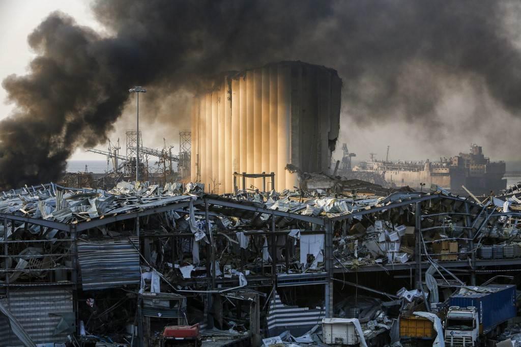 لبنان يعلن حصيلة خسائر فاجعة بيروت