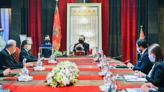 جلالة الملك يترأس بالرباط جلسة عمل خصّصت لاستراتيجية الطاقات المتجددة