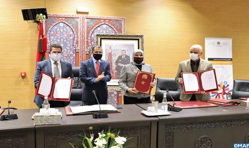 الرباط.. التوقيع على اتفاقيتين للشراكة في مجال النهوض بحقوق الأشخاص في وضعية إعاقة بين عدد من القطاعات