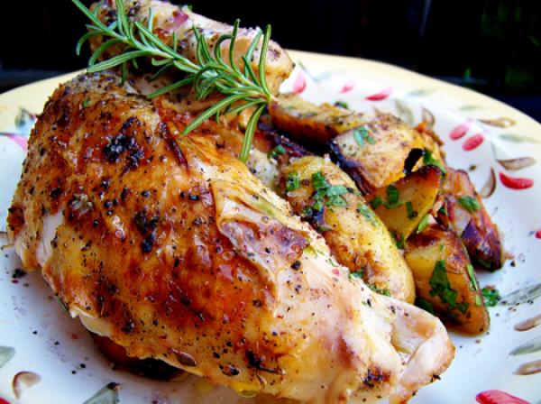 شهيوات لالة فاطمة: الدجاج بالأعشاب