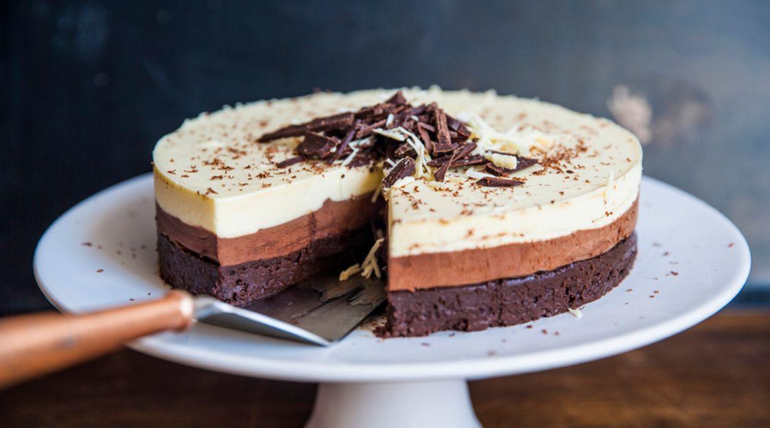 شهيوات لالة فاطمة: موس الشوكولا السوداء