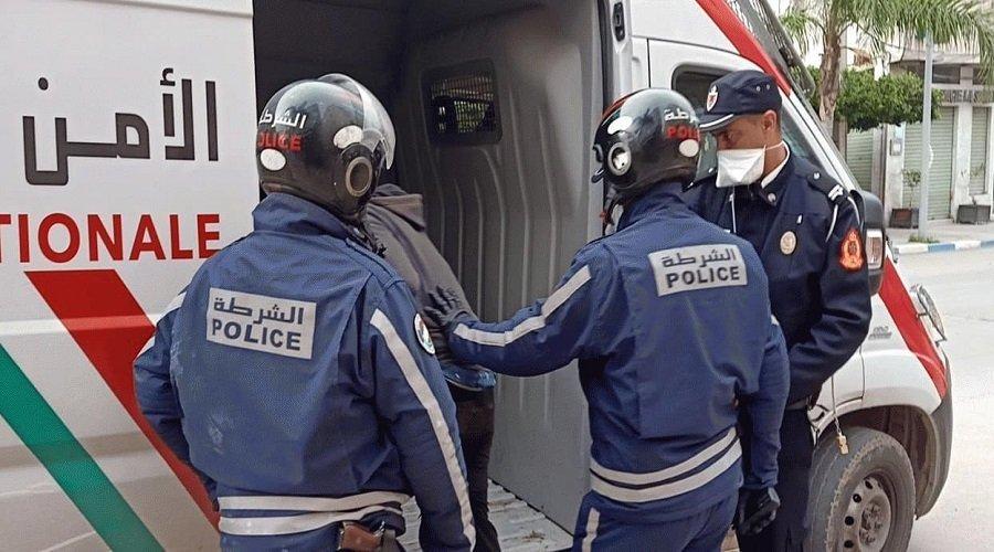 توقيف 112 شخصا بالبيضاء بسبب خرق حالة الطوارئ الصحية