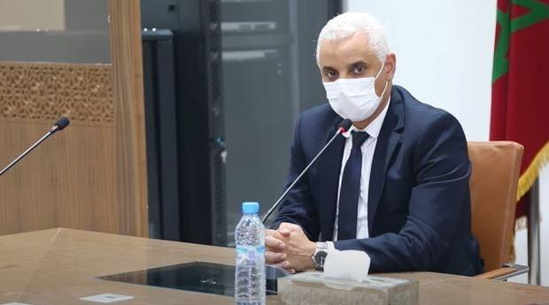وزير الصحة يؤكد استمرار التزود باللقاحات